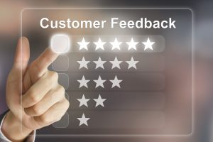 customer feedback 5-star rating