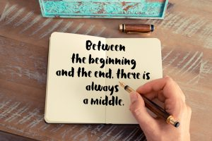 between the beginning and the end, there is always a middle.