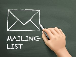 author email list preparation