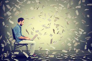 novelist author publishing money
