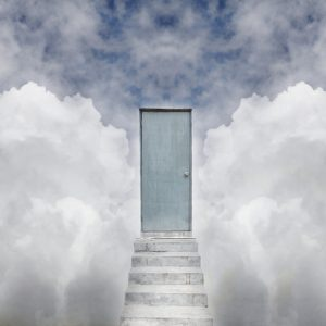 door in the clouds