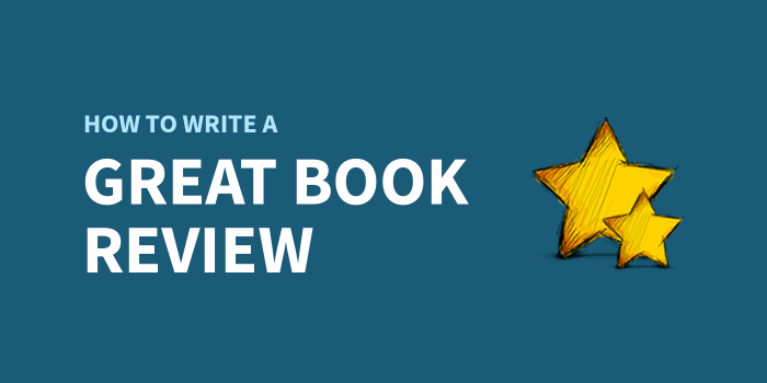how to write a great book review
