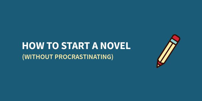 start a novel
