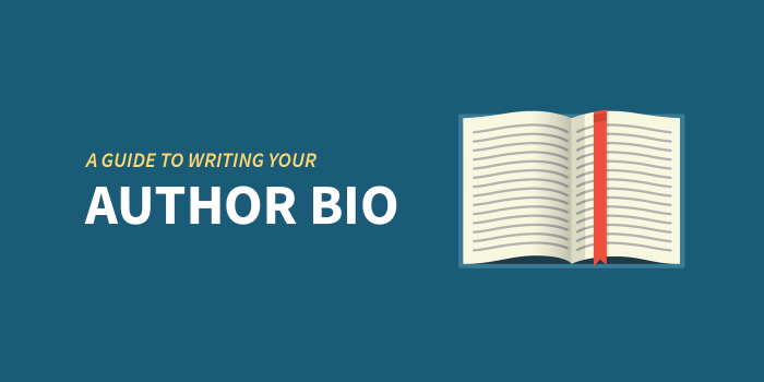 writing your author bio