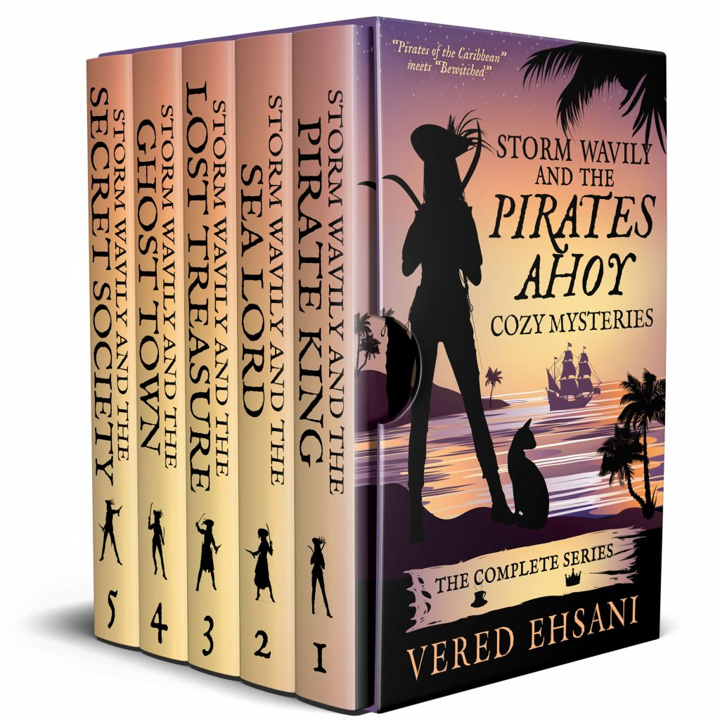 Storm Wavily and the Pirates Ahoy Cozy Mysteries: The Complete Series
